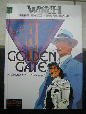 "Largo Winch ""Golden gate"" EO 2000 comme neuf"