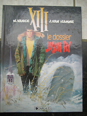 "XIII ""Le dossier Jason Flyt"" EO 1990 comme neuf"