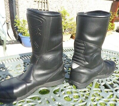 Frank Thomas AquaPore motorcycle boots, size 10 Very good condition