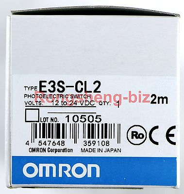 1PC NEW OMRON E3S-CL2 Diffuse Photoelectric Sensor Switch #019