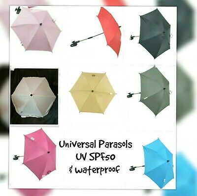 Universal Baby Sun Parasol, Fits All Strollers/prams/pushchairs