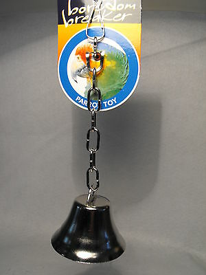 PARROT TOY  LARGE BIRD BELL PARROT BELL  TOY BELL PARROT TOY GIFT budgie bell