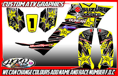 Suzuki Lt50 / Lt50A / Ltz50 / Ltz90 / Lt80 Graphics Decals Atv Quad