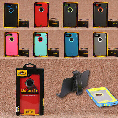 Otterbox Defender Case Cover+Holster Belt Clip For Apple iPhone 7 8 Plus X XS XR