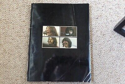 BEATLES 'GET BACK' BOOK from Let it Be Boxed Album Set (p) 1969 / 1970