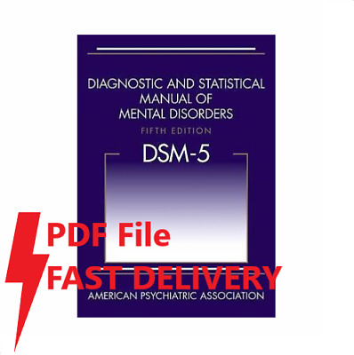 DSM-5 Diagnostic and Statistical Manual of Mental Disorders, 5th Edition[PDFile]