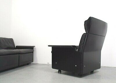 Vitsoe Sofaprogramm 620 Ledersessel leather lounge chair design Dieter Rams 1962