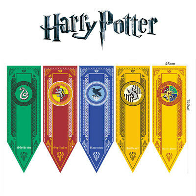 Harry Potter Banner Flag College School Hogwarts Gryffindor Wall House Decor New