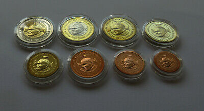 Vatican 2002 Set Euro Coins Pattern Specimen Collection Essai Paulus Lot Rare