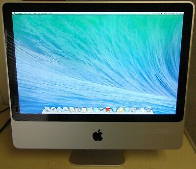 """Used Apple iMac 20"""" All-In-One Intel Core 2 Duo 2.4GHz 4GB RAM 250GB HDD A1224"""