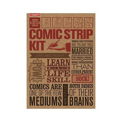 Lagoon Turn Off The TV Make Your Own Comic Strips Kit Activity Guide Book Gift