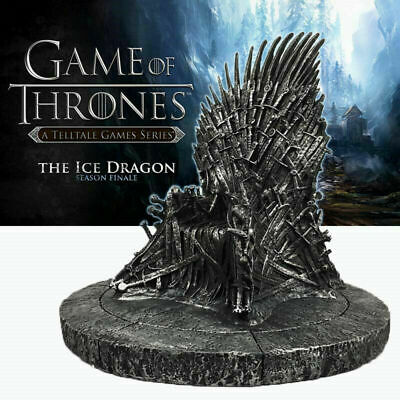 The Iron Throne Game Of Thrones A Song Of Ice And Fire Statue Figures Collection