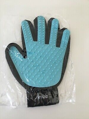 Dog Cat Massage Grooming Glove True Touch Deshedding Gentle  Efficient