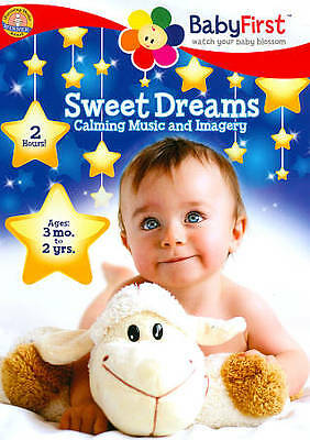 BabyFirst: Sweet Dreams - Calming Music & Imagery (DVD, 2013) - SEALED