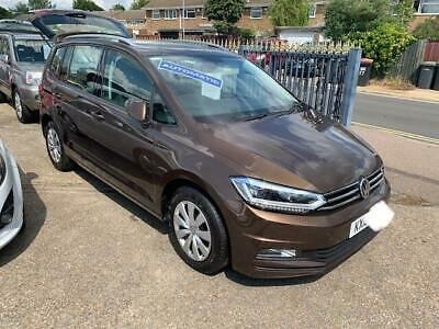 Volkswagen Touran DSG 7 seater FULL ELECTRIC SUNROOF AUTOMATIC 1500 miles