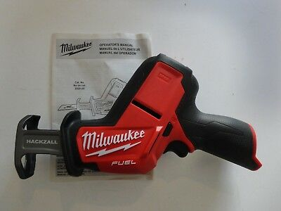 MILWAUKEE 2520-20 M12 12V Volt Fuel Brushless Hackzall Tool Only Replace 2420-20
