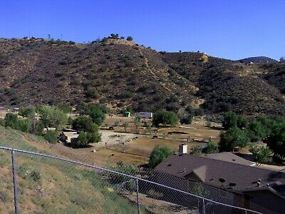 AGUA DULCE Los Angeles CA 2.5 ac!  VIEWS Hillside HORSE PROPERTY! High BID WINS!