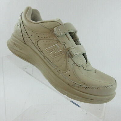 3cee8aa7787cb New Balance 577 Beige Leather Diabetic Walking Shoes WW577VB Womens Size 8 B