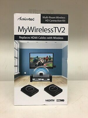 Actiontec MyWirelessTV2 Multi-Room Wireless HD Connection Kit New Ships Free