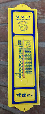 NEW Alaska Thermometer goes down to -100 degrees F  Wind Chill Chart Made in USA