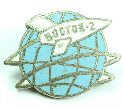 USSR SOVIET ERA VOSTOK-2 Space Program ENAMEL PIN BADGE (magnetic) 1960-s #008