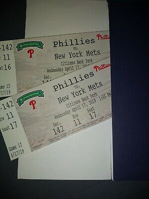 Selling 2 Phillies tickets