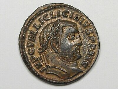 Ancient Roman Imperial Coin: Licinius I (308-324 AD) Æ Follis. RIC 65.  #24