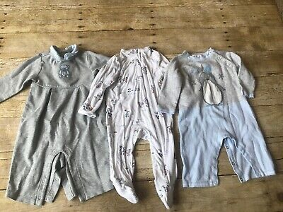 15cde88af Angel Dear Janie & Jack Baby Infant Boy 0-3 Months One Piece Romper Lot
