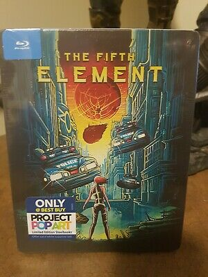 The Fifth Element Best Buy Exclusive Steelbook Blu-Ray New And Sealed Oop
