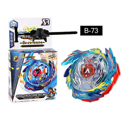 Burst Spinning Top God Valkyrie.6V.Rb B-73 Metallo carattere set giocattolo di