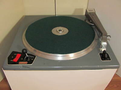 Gates CB 500 16 Inch Radio Station  Broadcast Turntable / Gray Tone Arm