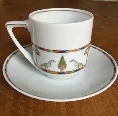 Rosenthal Donatello Sais Egyptian Coffee Cup & Saucer (10 sets available),