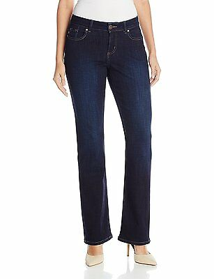 247bd154 LEE WOMENS MODERN Series Curvy Fit Bootcut Jeans size 4 NEW - $18.99 ...