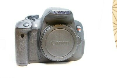 Canon EOS Rebel T5i / EOS 700D 18.0MP Digital SLR Camera - Black (Body Only)