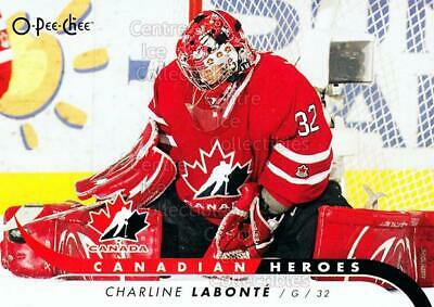 2009-10 O-Pee-Chee Canadian Heroes #CBCL Charline Labonte
