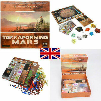 Terraforming Mars Board Game - Build Your Economy and Transform The Planet T WC