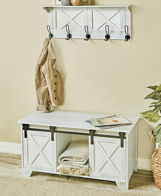 Admirable Antique Bench Entry Way Farmhouse Rustic French Country Ibusinesslaw Wood Chair Design Ideas Ibusinesslaworg