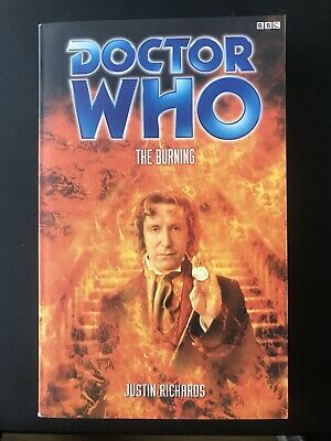 Doctor Who - The Burning by Justin Richards (PB, 2000) Very Good Condition