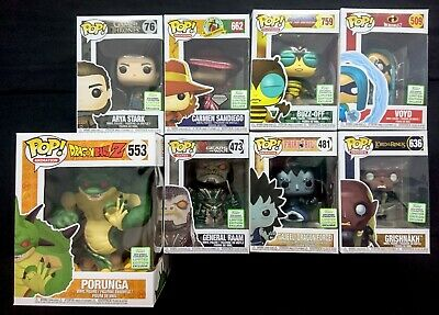 Funko Pop! ECCC 2019 Bundle: Game of Thrones Arya, Dragonball Z, MOTU, +More
