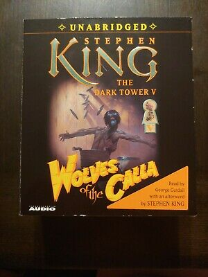 STEPHEN KING - THE DARK TOWER V 5 - WOLVES OF THE CALLA - AUDIO 22 CD'S like new