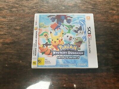 Pokemon Mystery Dungeon Gates to infinity Nintendo 3DS Game