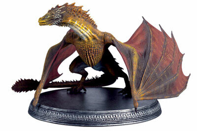 Game of Thrones - Figurine Dragon Viserion - Eaglemoss **RARE**