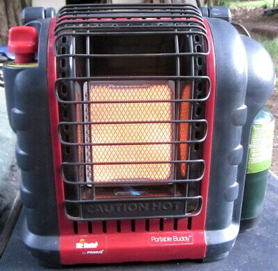 "2nd hand, near mint Mr. HEATER ""Portable Buddy"" LPG  Primus caravan / cabin heat"