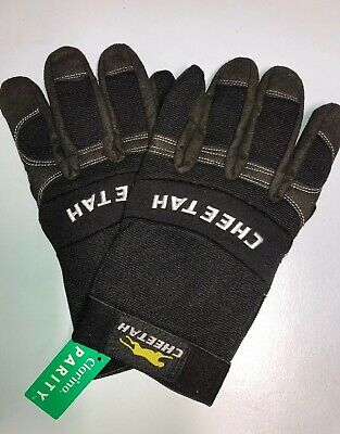 Cheetah Synthetic Leather Size XXL Gloves - Super Comfy, Hard Wearing FREE POST