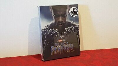 Marvel BLACK PANTHER 2D/3D Blu-ray STEELBOOK BLUFANS Lenticular #214/1200 NEW