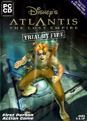 Atlantis The Lost Empire: Trial by Fire - Free Postage