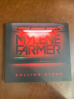 mylene farmer-rolling stone jvno remix not for sale russia(lot,coffret,promo)