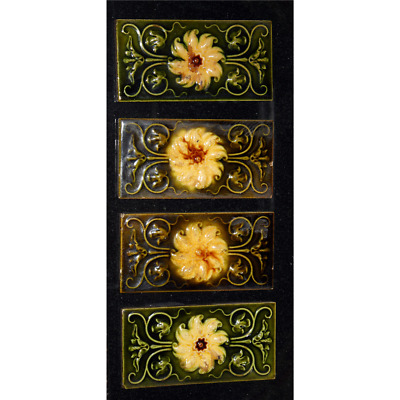 Victorian Fireplace Spacer Tile Set