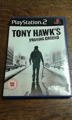 * Sony Playstation 2 Game * TONY HAWK'S PROVING GROUND * PS2