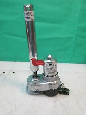 """Tennant 1051682 24VDC Actuator 6"""" Stroke 600LBS Force Fits T5 Replaces 1023035"""